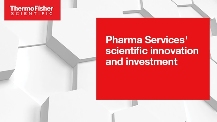 Pharma Services' scientific innovation and investments