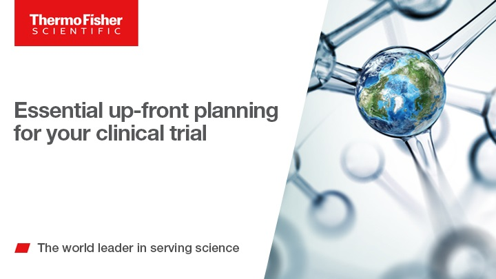 Essential up-front planning for your clinical trial
