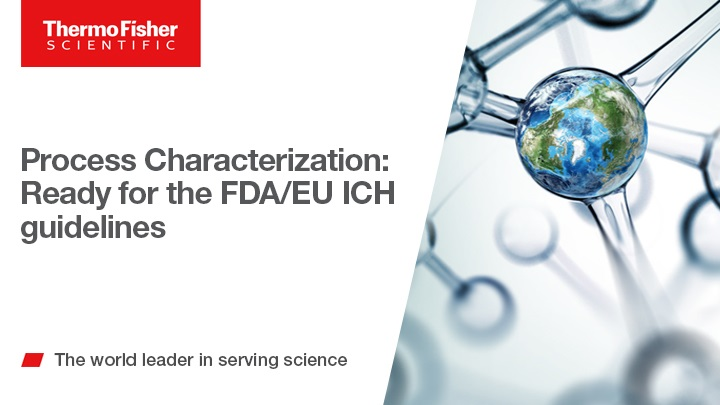 Process Characterization: Ready for the FDA/EU ICH guidelines